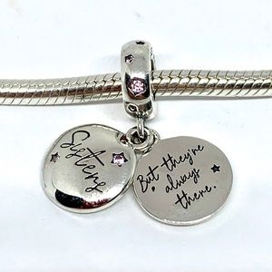 Pandora Forever Sisters Charm